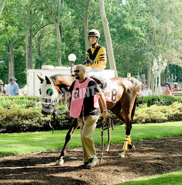 Cross Mountain before The John W. Rooney Memorial Stakes at Delaware Park on 6/2/12