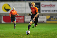 Pictured: Josh Thomas of Swansea City u19's in action during the FAW youth cup final between Swansea City and The New Saints at Park Avenue in Aberystwyth Town, Wales, UK.<br /> Wednesday 17 April 2019