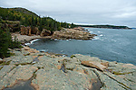 Mount Desert Island, Rocky Shoreline, Acadia National Park, Maine