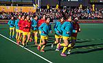 UTRECHT - Warming Up China,    tijdens de Pro League hockeywedstrijd wedstrijd , Nederland-China . COPYRIGHT  KOEN SUYK