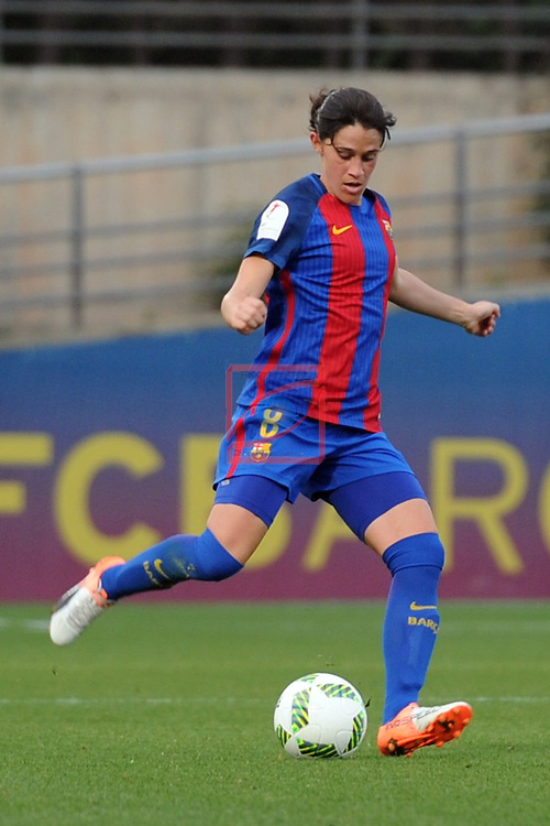 Spanish Women's Football League Iberdrola 2016/17 - Game: 11.<br /> FC Barcelona vs Athletic Club: 2-1.<br /> Miriam Dieguez.