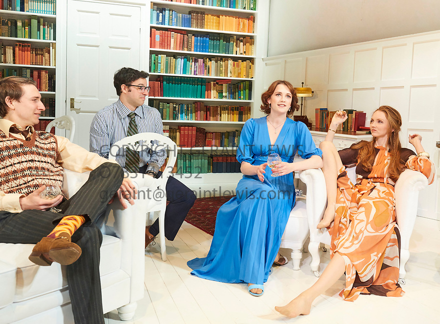 The Philanthropist by Christopher Hampton, directed by Simon Callow. With  Tom Rosenthal as Donald, Simon Bird as Philip, Charlotte Ritchie as Celia, Lily Cole as Araminta,Opens at The Trafalgar Studios Theatre on 14/3/18