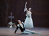 Giselle <br /> English National Ballet at The London Coliseum, London, Great Britain <br /> rehearsal <br /> 10th January 2017 <br /> <br /> Alina Cojocaru as Giselle <br /> <br /> Isaac Hernandez as Albrecht <br /> <br /> <br /> Photograph by Elliott Franks <br /> Image licensed to Elliott Franks Photography Services