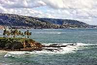 Off The Coast Of Laguna Beach