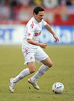 FUSSBALL   1. BUNDESLIGA  SAISON 2011/2012   22. Spieltag 1. FC Nuernberg - 1. FC Koeln       18.02.2012 Sascha Riether (1. FC Koeln)