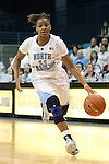 03 January 2013: North Carolina's Brittany Rountree. The University of North Carolina Tar Heels played the University of Maryland Terrapins at Carmichael Arena in Chapel Hill, North Carolina in an NCAA Division I Women's Basketball game. UNC won the game 60-57.