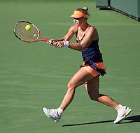 ANGELIQUE KERBER (GER)<br /> <br /> Tennis - BNP PARIBAS OPEN 2015 - Indian Wells - ATP 1000 - WTA Premier -  Indian Wells Tennis Garden  - United States of America - 2015<br /> &copy; AMN IMAGES