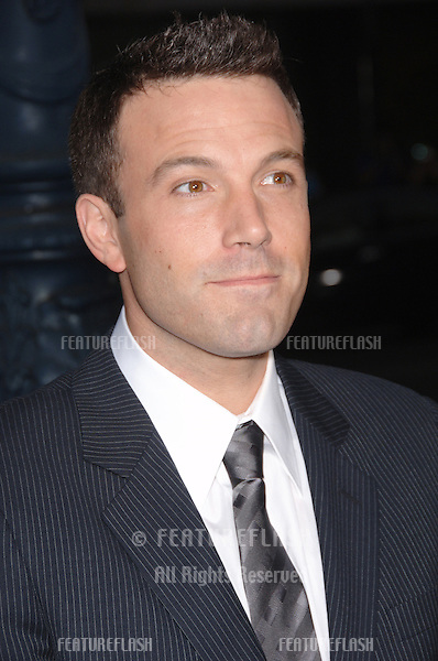"Actor BEN AFFLECK at the Los Angeles premiere of his new movie ""Hollywoodland""..September 7, 2006  Los Angeles, CA.© 2006 Paul Smith / Featureflash"