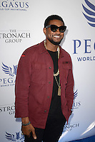 www.acepixs.com<br /> <br /> January 28 2017, Hallandale, FL<br /> <br /> Usher Raymond arriving at the Pegasus World Cup at Gulfstream Park on January 28, 2017 in Hallandale, Florida.<br /> <br /> By Line: Solar/ACE Pictures<br /> <br /> ACE Pictures Inc<br /> Tel: 6467670430<br /> Email: info@acepixs.com<br /> www.acepixs.com
