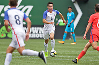 Portland, OR - Saturday August 12, 2017: \4 during friendly match between the USMNT U17's and Chile u17's at Providence Park in Portland, OR.