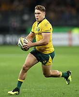 James O'Connor of the Wallabies during the Rugby Championship match between Australia and New Zealand at Optus Stadium in Perth, Australia on August 10, 2019 . Photo: Gary Day / Frozen In Motion