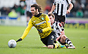 CELTIC'S GEORGIOS SAMARAS IS BROUGHT DOWN BY ST MIRREN'S PAUL MCGOWAN