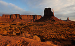 West Mitten Butte at Monument Valley.