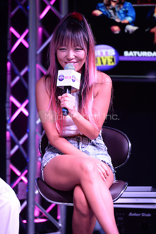 HOLLYWOOD, FL - JUNE 11: JinJoo Lee of DNCE visits radio station Hits 97.3 on June 11, 2016 in Hollywood, Florida. Credit: mpi04/MediaPunch