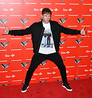 Danny Jones attends photocall to launch The Voice Kids, new ITV series of the children's talent show, at The RSA, London on June 06, 2019.<br /> CAP/JOR<br /> ©JOR/Capital Pictures