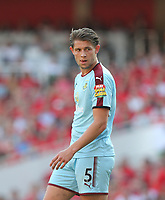 Burnley's James Tarkowski<br /> <br /> Photographer Rob Newell/CameraSport<br /> <br /> The Premier League - Arsenal v Burnley - Sunday 6th May 2018 - The Emirates - London<br /> <br /> World Copyright &not;&copy; 2018 CameraSport. All rights reserved. 43 Linden Ave. Countesthorpe. Leicester. England. LE8 5PG - Tel: +44 (0) 116 277 4147 - admin@camerasport.com - www.camerasport.com