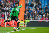 Moya, goalkeeper of Getafe CF