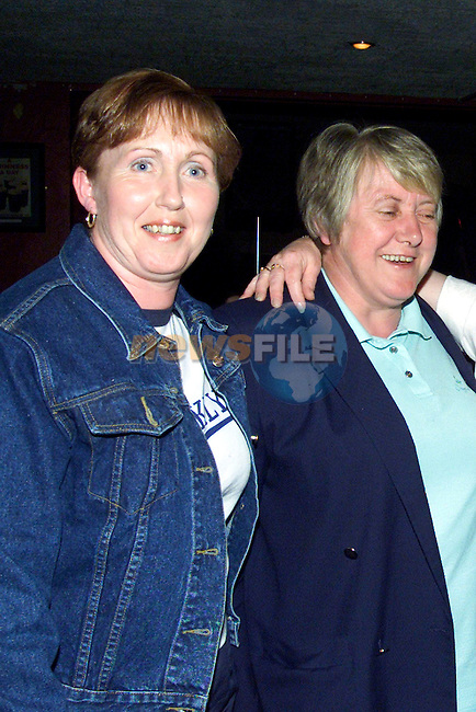 Breeda Sharkey and Marie Kelly enjoying a night out in The Tavern, Togher..Picture: Paul Mohan/Newsfile