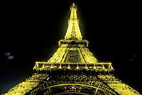 Eiffel Tower, Paris, France, Europe, evening, illuminated