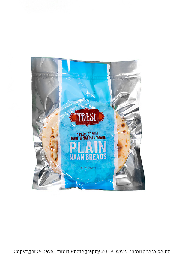 Mini Plain Naan 4 Pack. Tulsi photoshoot at Tulsi in Wellington, New Zealand on Thursday, 14 November 2019. Photo: Dave Lintott / lintottphoto.co.nz