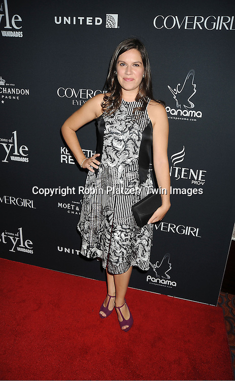 Gabriela Moya attends the Vanidades Magazine  Icons of Style Gala on September 27, 2012 at the Mandarin Oriental Hotel in New York City.