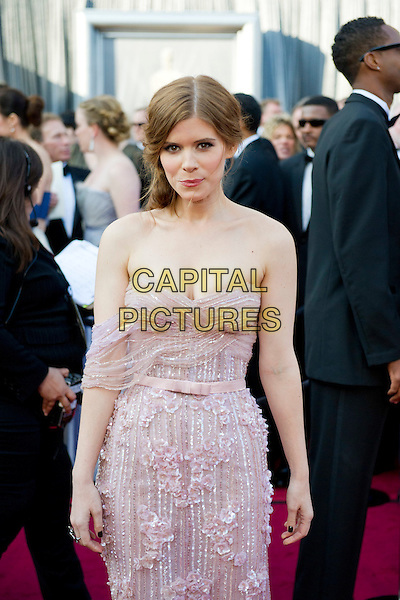 Kate Mara .Arrivals at the 84th Annual Academy Awards® in Hollywood, CA., USA..February 26, 2012.*Editorial Use Only*.oscars full length pink white dress.CAP/A.M.P.A.S./NFS.©A.M.P.A.S. Supplied by Capital Pictures.
