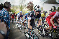 Jan Bakelants (BEL/OPQS) up the Mur de Huy (max 17%)<br /> <br /> La Flèche Wallonne 2014