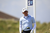 Euan McIntosh (Turnhouse) on the 5th tee during Round 1 of the The Amateur Championship 2019 at The Island Golf Club, Co. Dublin on Monday 17th June 2019.<br /> Picture:  Thos Caffrey / Golffile<br /> <br /> All photo usage must carry mandatory copyright credit (© Golffile | Thos Caffrey)