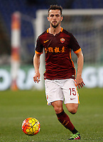 Calcio, Serie A: Roma vs Sampdoria. Roma, stadio Olimpico, 7 febbraio 2016.<br /> Roma&rsquo;s Miralem Pjanic during the Italian Serie A football match between Roma and Sampdoria at Rome's Olympic stadium, 7 January 2016.<br /> UPDATE IMAGES PRESS/Riccardo De Luca