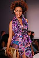 Kanomi Swimwear-Venezula Model, Staci Lyon, at Miami Beach International Fashion Week, Miami Beach Convention Center, Miami, FL - March 3, 2011