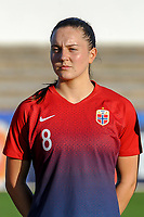 20200307  Lagos , Portugal : Norwegian midfielder Vilde Boe Risa (8) pictured during the female football game between the national teams of Germany and Norway on the second matchday of the Algarve Cup 2020 , a prestigious friendly womensoccer tournament in Portugal , on saturday 7 th March 2020 in Lagos , Portugal . PHOTO SPORTPIX.BE | STIJN AUDOOREN