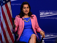 "Washington, DC - May 22, 2017: U.S. Representative Nanette Diaz Barragán participates in the ""Beyond the Ambition Gap: challenging the Systems That Keep Women Off Ballots and Out of Office"" panel discussion held by the Center for American Progress in the District of Columbia May 22, 2017. (Photo by Don Baxter/Media Images International)"