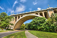 Taft Memorial Brodge Woodley Park Rock Creek Parkway Washington DC