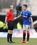03.11.2018: St Mirren v Rangers: Ryan Jack and Willie Collum