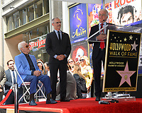Charles Aznavour &amp; Mitch O'Farrell &amp; Paul Krekorian at the the Hollywood Walk of Fame star ceremony honoring French singer Charles Aznavour on Hollywood Boulevard, USA 24 Aug. 2017<br /> Picture: Paul Smith/Featureflash/SilverHub 0208 004 5359 sales@silverhubmedia.com