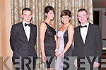 HARRIES: Having great fun at the North Kerry Harries Hunt Ball at the Ballygarry House hotel and Spa on Friday l-r: Kean Mulvihill, Natasha McCrohan, Rebecca Nardone and Mikey Moriarty...