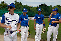 BASEBALL - GREEN ROLLER PARK - PRAGUE (CZECH REPUBLIC) - 24/06/2008 - PHOTO: CHRISTOPHE ELISE.FABIEN PROUST (TEAM FRANCE)
