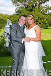 Stephanie Griffin, Lixnaw, Daughter of John and Frances Griffin, and Nick Corkery, Milltown, son of Donal and Aggie Corkery, were married at St. Michael Church Lixnaw by Fr. Maurice Brick on Thursday 14th August 2014 with a reception at Ballyseede Castle Hotel
