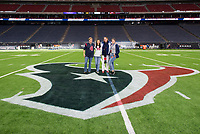 Houston Texans play the San Francisco 49ers at NRG Stadium