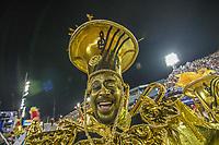 Rio de Janeiro (RJ) 24/02/20 Carnaval- Rio - Apresentação da escola de samba Salgueiro do grupo especial, no segundo dia de desfile no Sambódromo na Marquês de Sapucaí nesta segunda - feira de Carnaval (24).