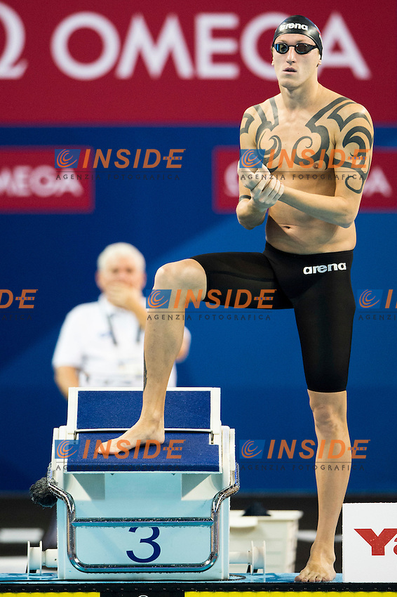 KONOVALOV Nikita RUS<br /> Men's 100m Freestyle Heats<br /> Doha Qatar 06-12-2014 Hamad Aquatic Centre, 12th FINA World Swimming Championships (25m). Nuoto Campionati mondiali di nuoto in vasca corta.<br /> Photo Giorgio Scala/Deepbluemedia/Insidefoto