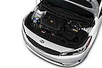 Car Stock 2017 KIA Forte EX-AT 4 Door Sedan Engine  high angle detail view