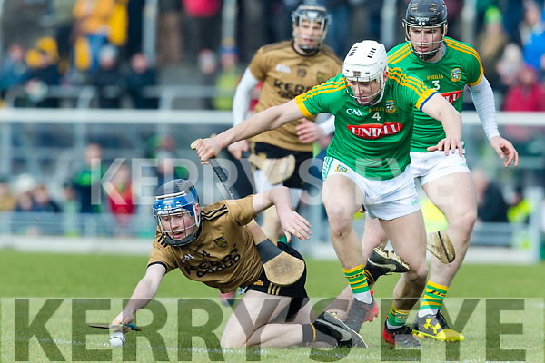 Shane Conway Kerry in action against Niall Weir Meath in the Allianz Hurling League Division 2a Round 4 match between Kerry and Meath at Austin Stack Park, Tralee, Co. Kerry.