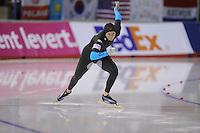 SCHAATSEN: CALGARY: Olympic Oval, 08-11-2013, Essent ISU World Cup, 500m, Heather Richardson (USA), ©foto Martin de Jong
