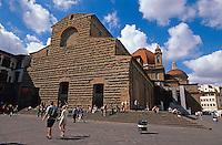 Italien, Toskana, Florenz, Kirche San Lorenzo, Unesco-Weltkuturerbe