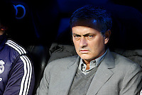 Real Madrid CF vs Athletic Club de Bilbao (5-1) at Santiago Bernabeu stadium. The picture shows Jose Mourinho. November 17, 2012. (ALTERPHOTOS/Caro Marin) NortePhoto