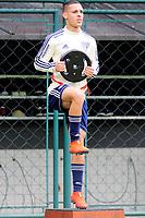 SÃO PAULO,SP, 10.04.2019 - FUTEBOL-SÃO PAULO FC - Antony,  jogador do São Paulo Fc, durante treino no Ct da Barra Funda, na região oeste da cidade de São Paulo, na manhã desta quarta-feira, 10. )Foto: Dorival Rosa/Brazil Photo Press/Folhapress)