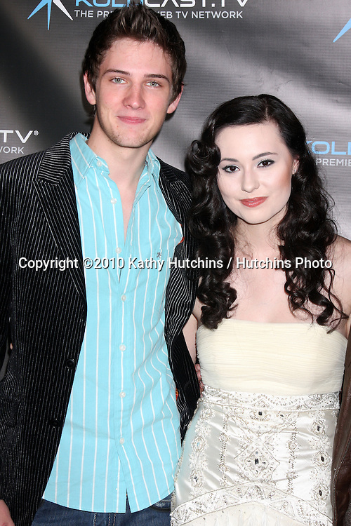 "LOS ANGELES - DEC 14:  Michael Christopher Bolten, Jillian Clare, James Rustin attends the ""Miss Behave"" Season Two Premiere Party at Flappers Comedy Club on December 14, 2010 in Burbank, CA."