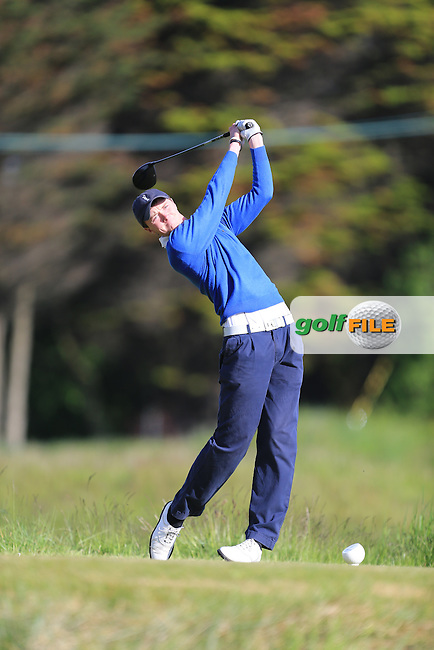 Eugene Smith (Ardee)<br /> during R1 of the East of Ireland Amateur Open championship 2013 at Co Louth Golf club, 1/6/13<br /> Picture:  Fran Caffrey / www.golffile.ie
