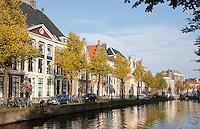 Nederland Leiden 2015 10 03 . Binnenstad van Leiden. Het Rapenburg. Foto Berlinda van Dam / Hollandse Hoogte
